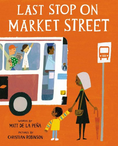 Graphic for Book Newbery Last Stop on Market Street